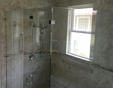 Frameless Shower Door in Casselberry, FL